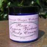 Rose-Lemon Verbena Body Cream