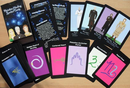 Pleiadian Healing Symbols Card Deck