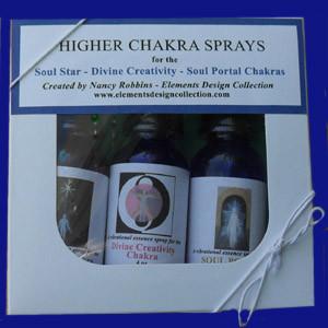 New Chakra Spray Mini Kits - 3 smallweb